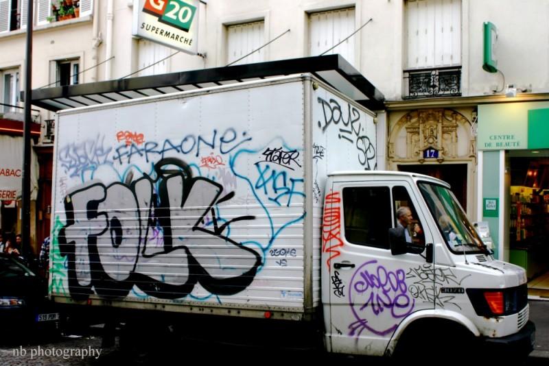 Tagged minibus