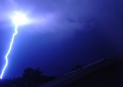 Blue Lightening