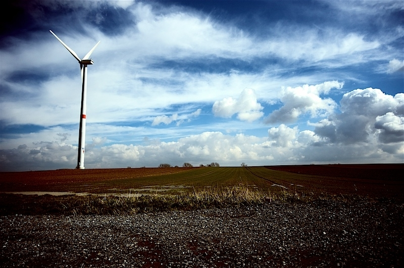 mechanical wind