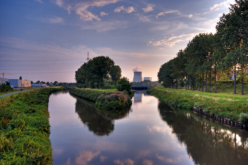 just an evening view - vilvoorde