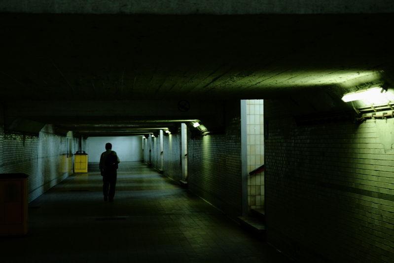 Couloir glauque