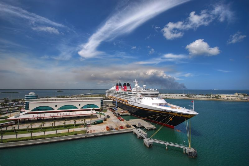 Disney Magic at Port Canaveral