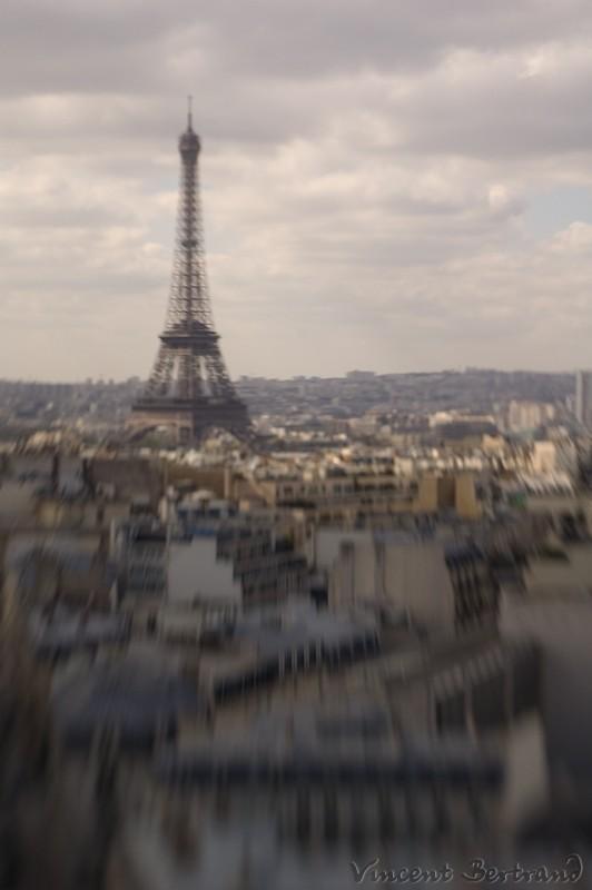 Eiffel au lensbaby