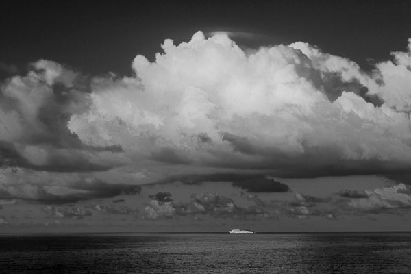 The cloud and the ship