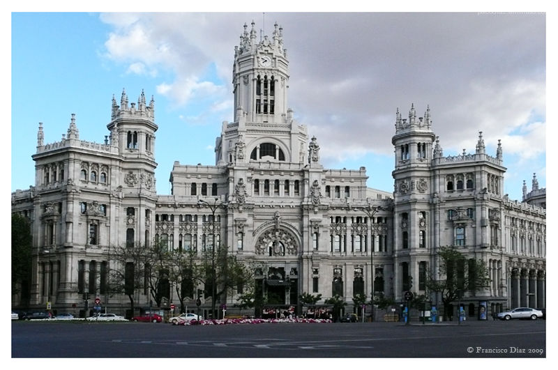 palacio de correos madrid architecture photos