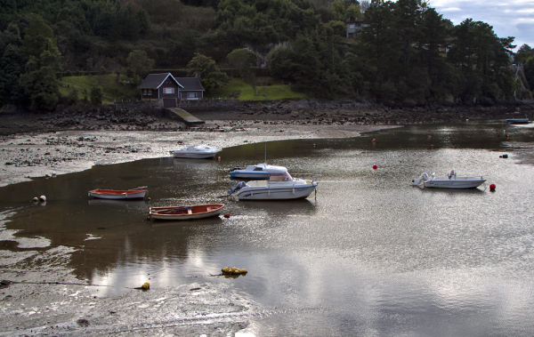 Barcas en Laida