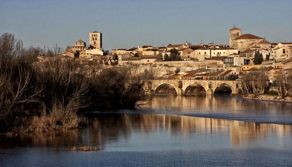 Vista de Zamora
