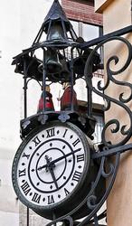 El reloj de la esquina