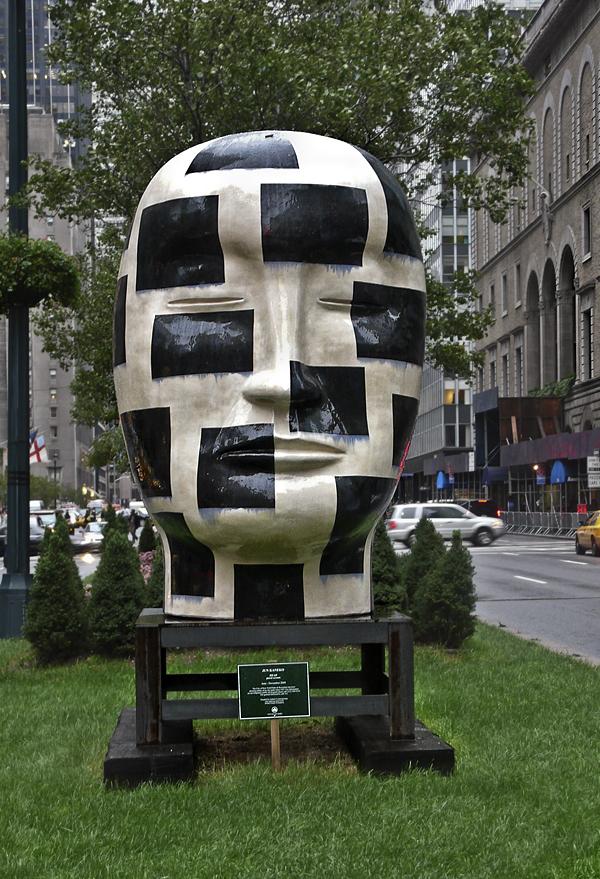 Escultura de Jun Kanek