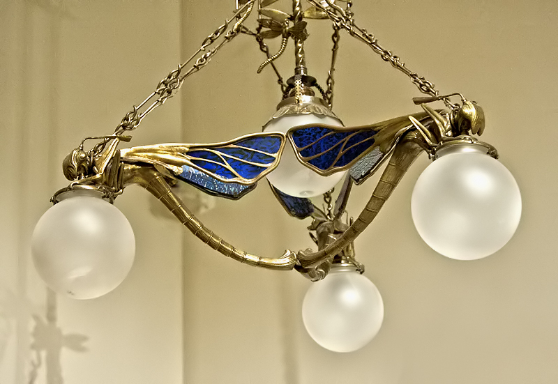 Lámpara modernista
