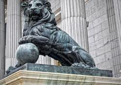 El león de las Cortes