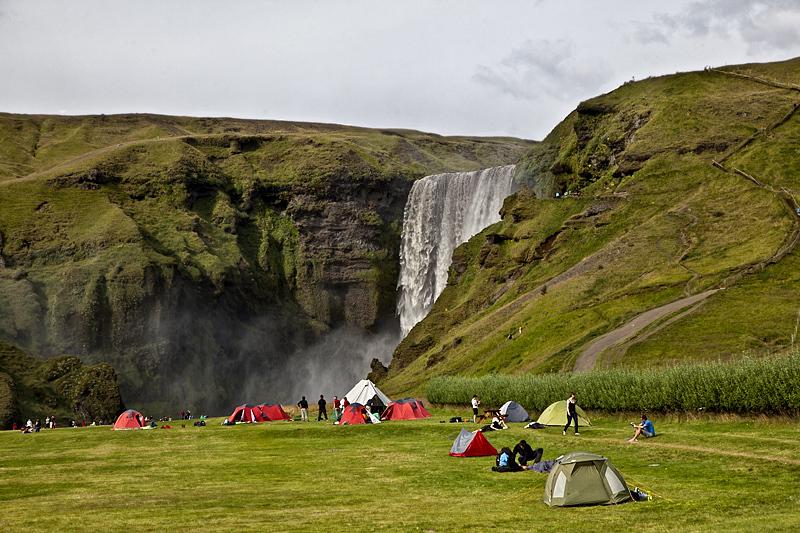 Camping Skógafoss