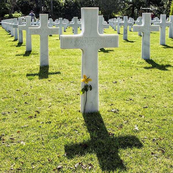 Normandía. Cementerio americano