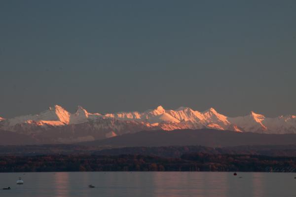 Alpes, Suisse, Lac de Neuchâtel