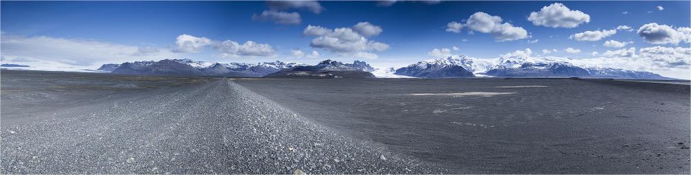 Panorama d'Islande