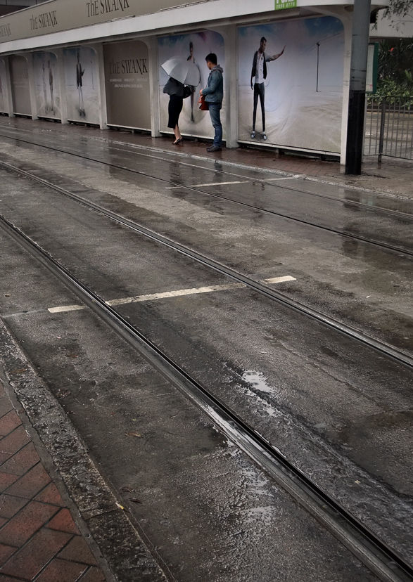tram stop