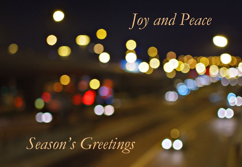 May Joy and Peace be with you!
