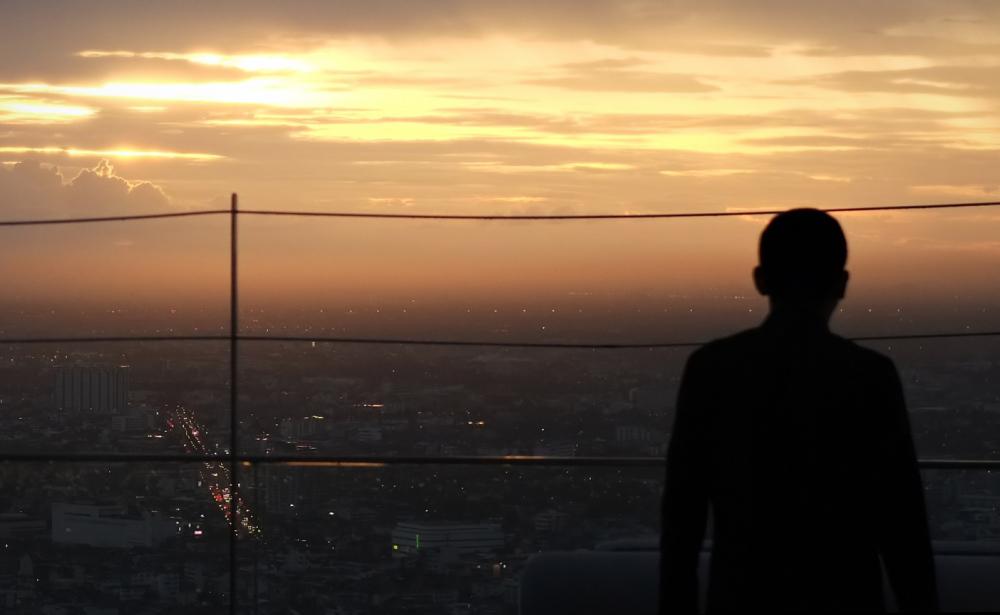 bangkok sunset...