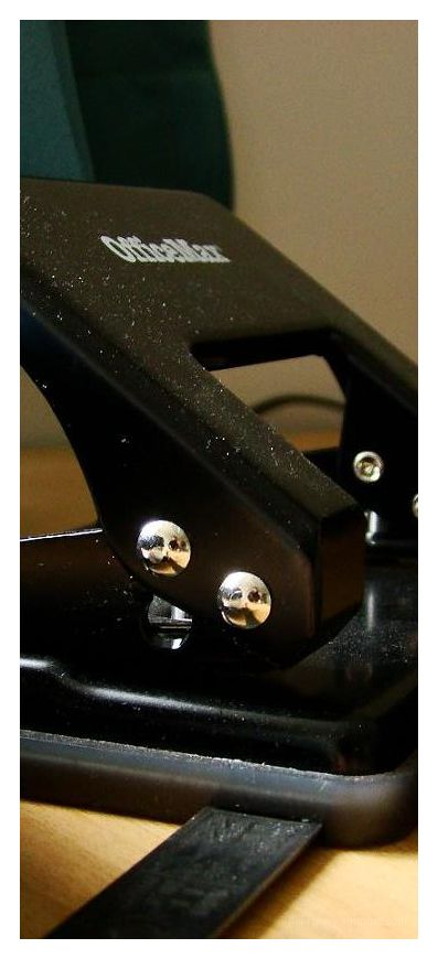 Faces in the hole punch!!