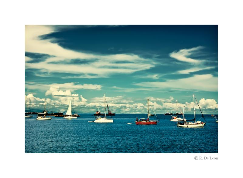 one sailing