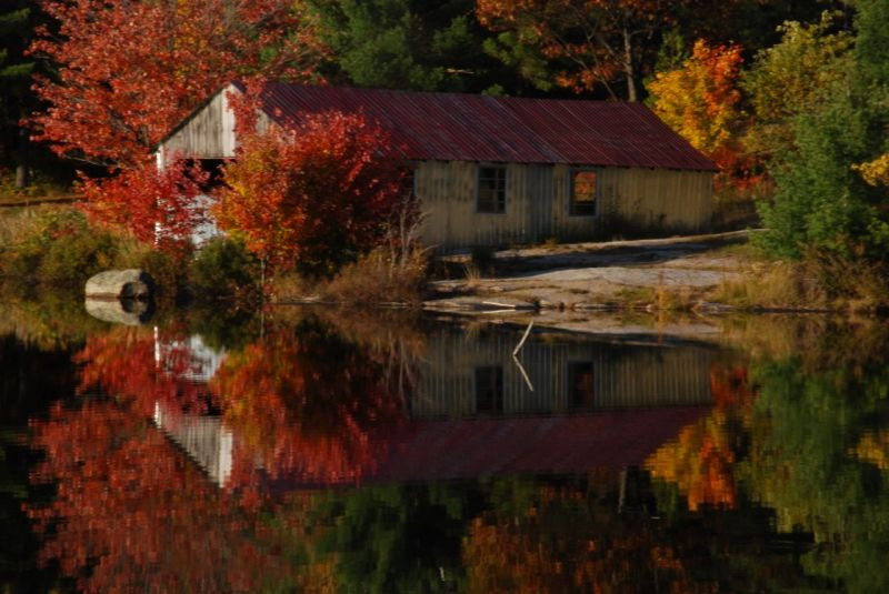 fall in cottage country