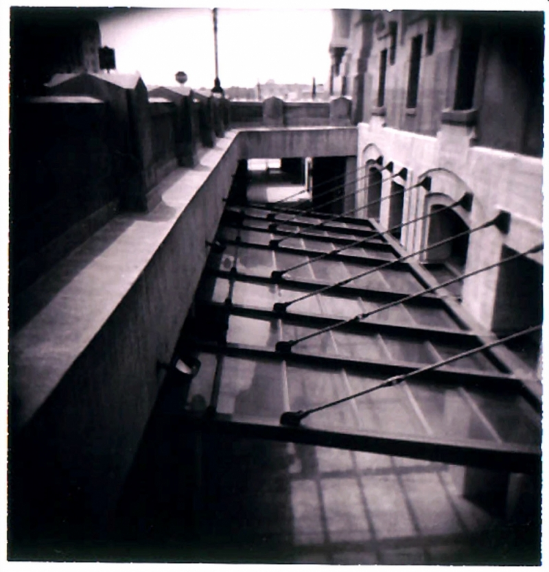 union station holgaroid - grant edwards photograph