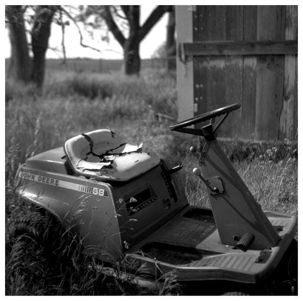old john deere riding mower - farm - highland, ks