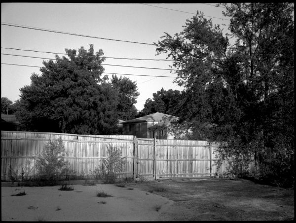 parking lot and fence - overland park, kansas