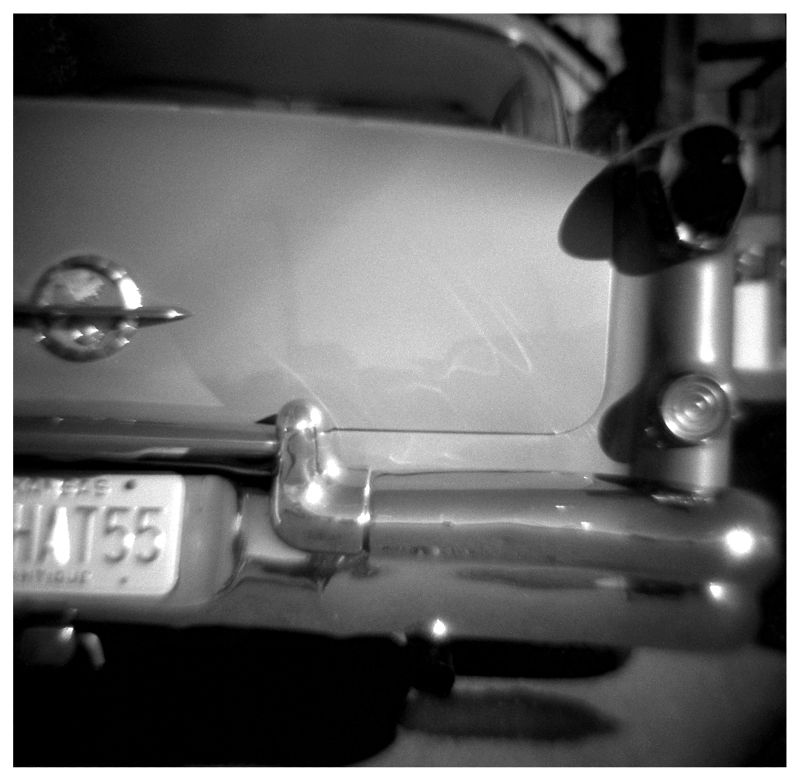 old car photo - diana toy camera