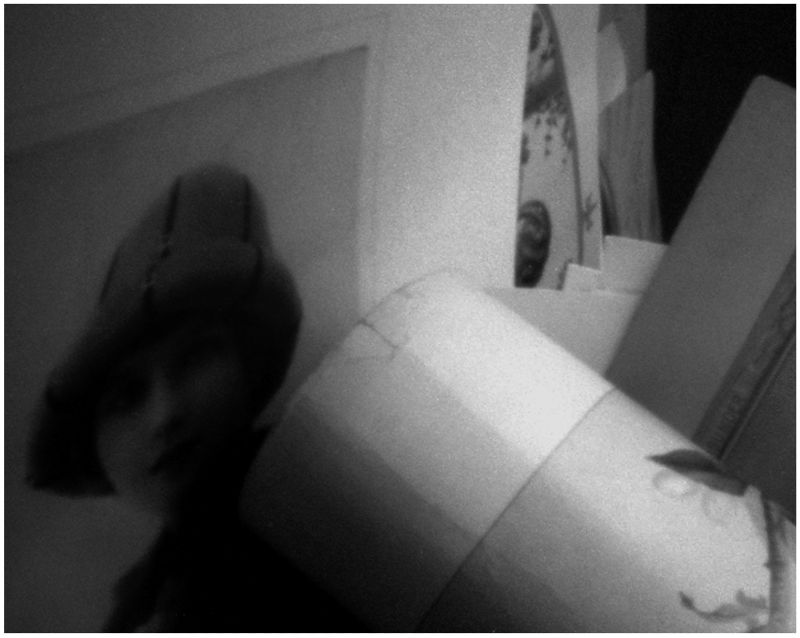 pinhole photo - grant edwards - print of a girl