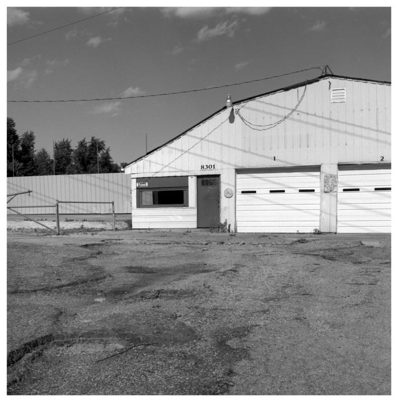 claycomo garage - grant edwards photography