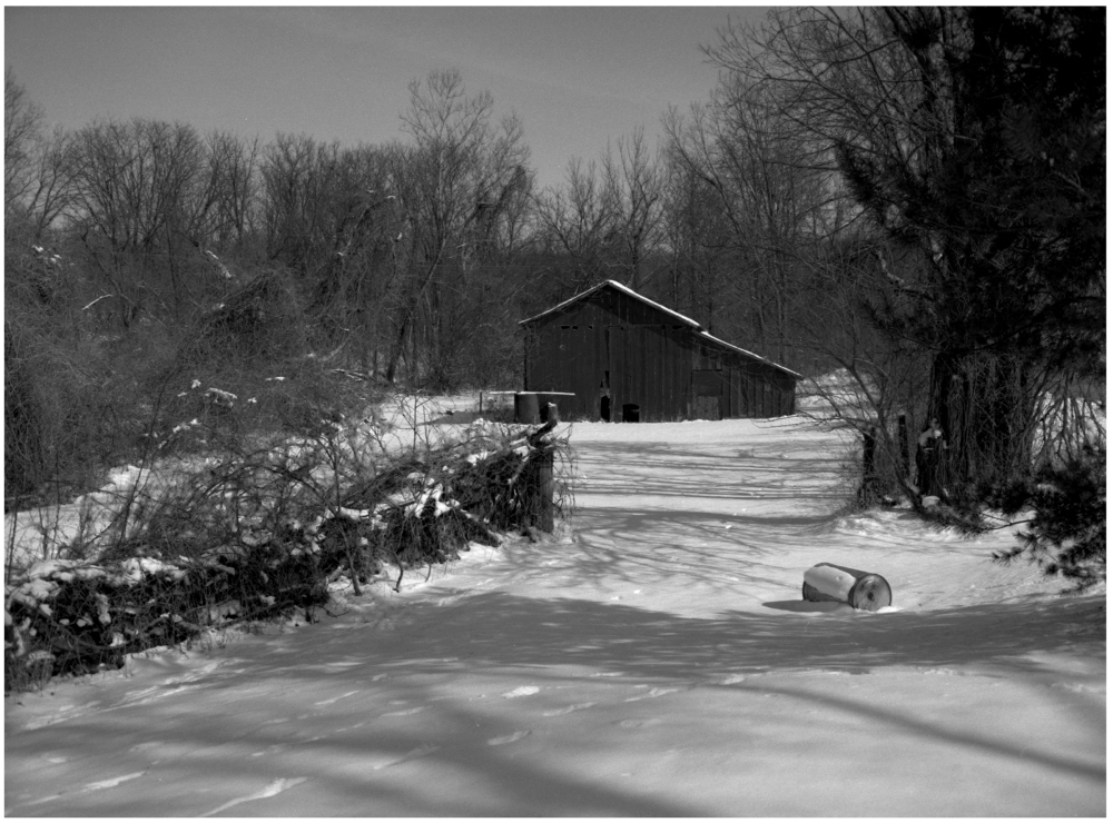 snow barn - grant edwards photography