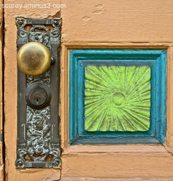 Victorian age door