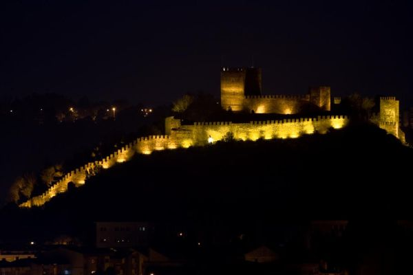 Leiria's castle seen from my house