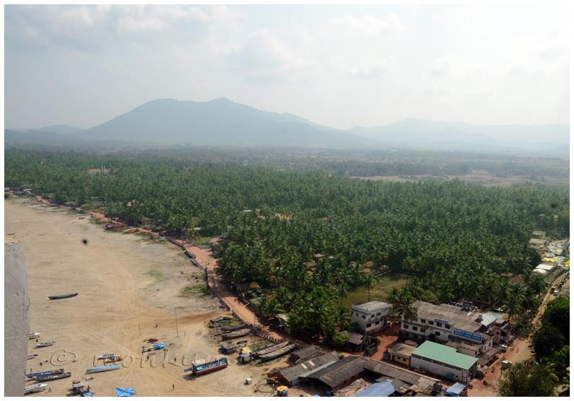Murdeshwara town, Karnataka,