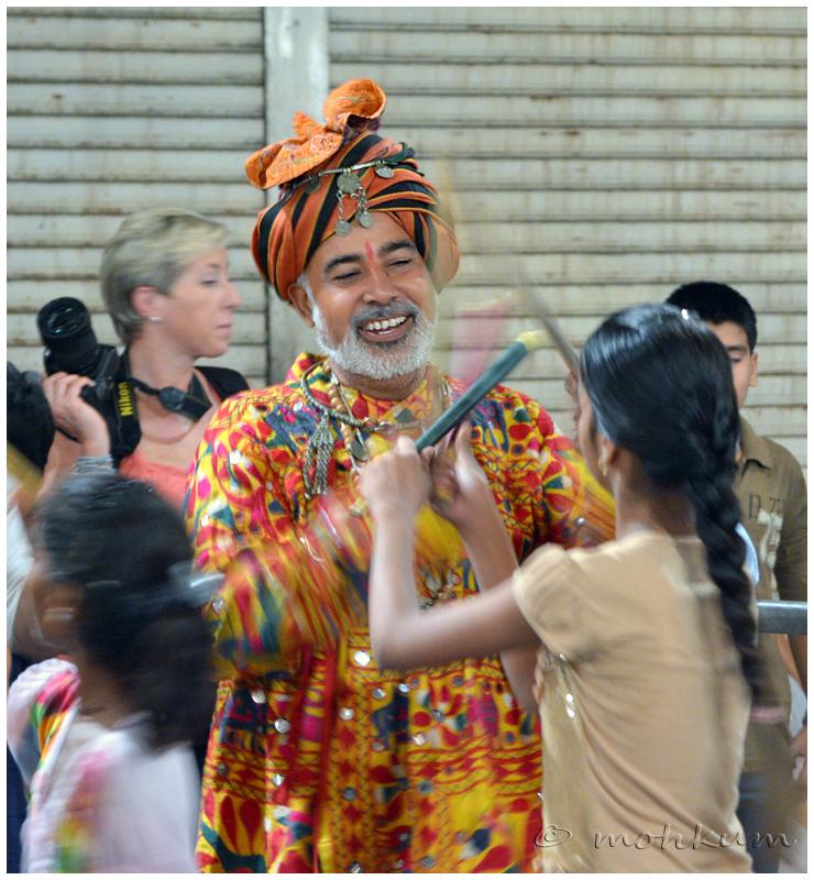 Dance with the tunes of Garba and Dandiya....