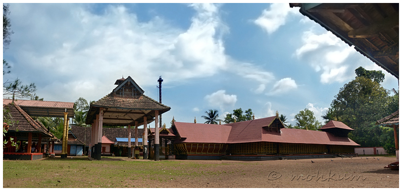 Anaprambal Sree Dharma Sastha Temple!