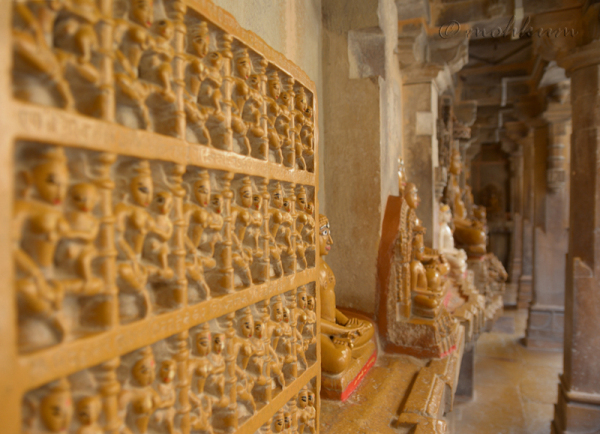 Inside the Jain Temple!