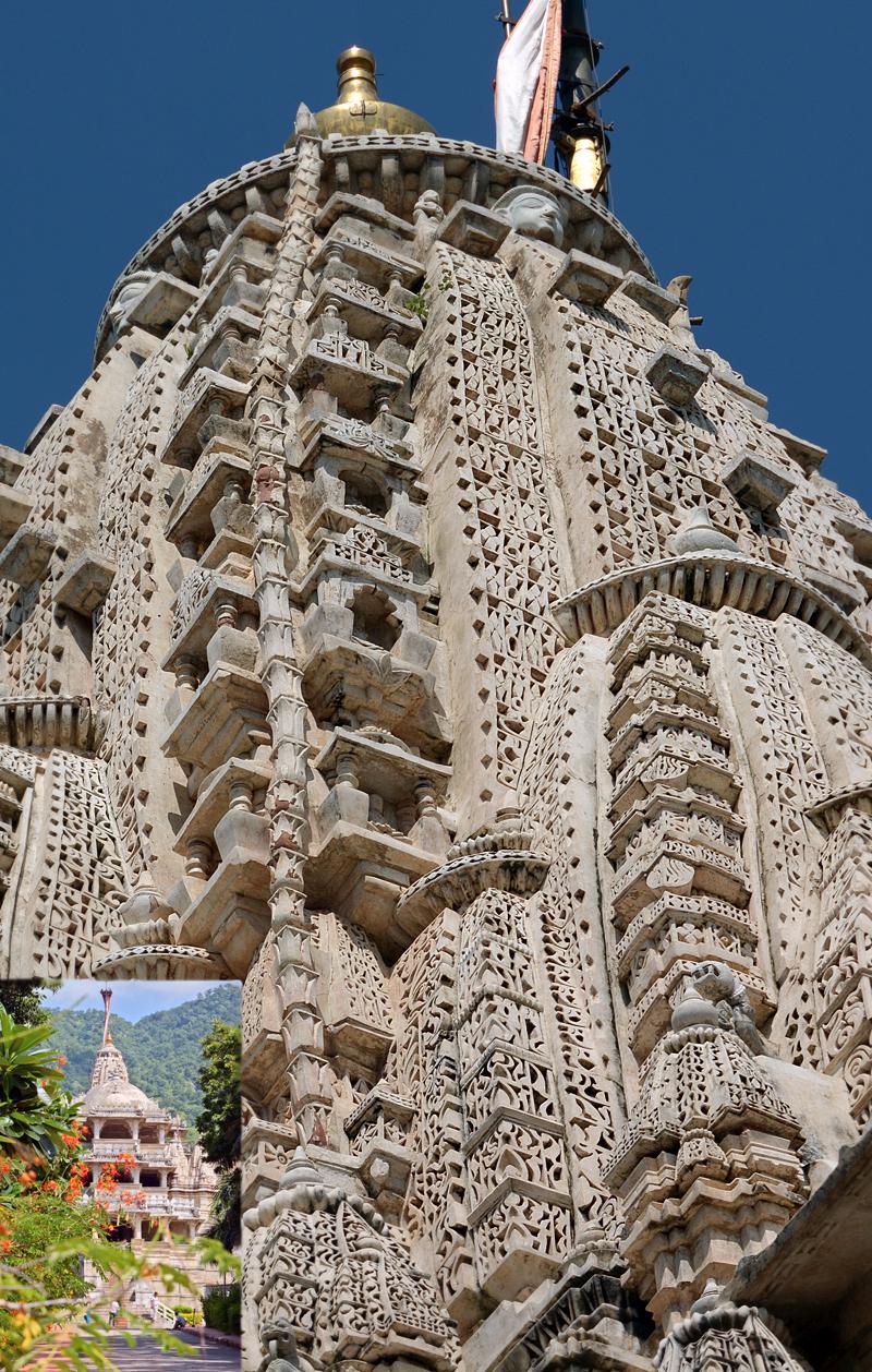 The Marble  Jain Temple!