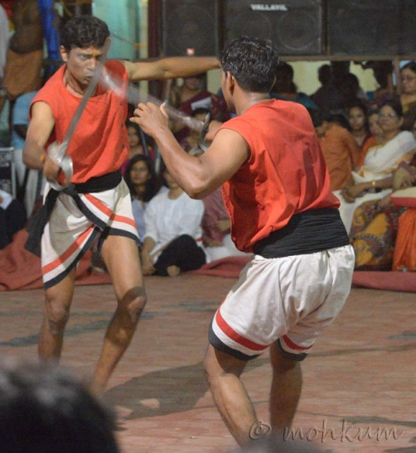 The martial arts of Kerala