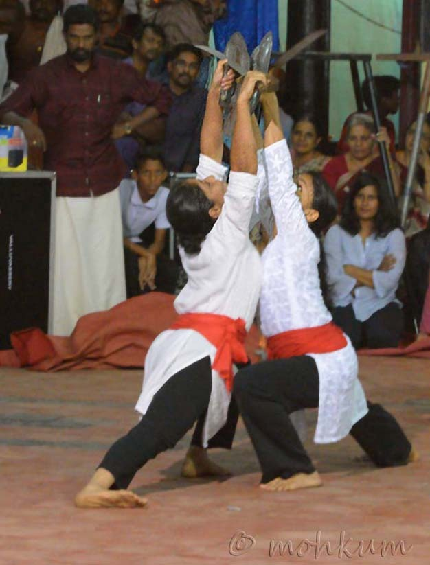 The martial arts of Kerala!