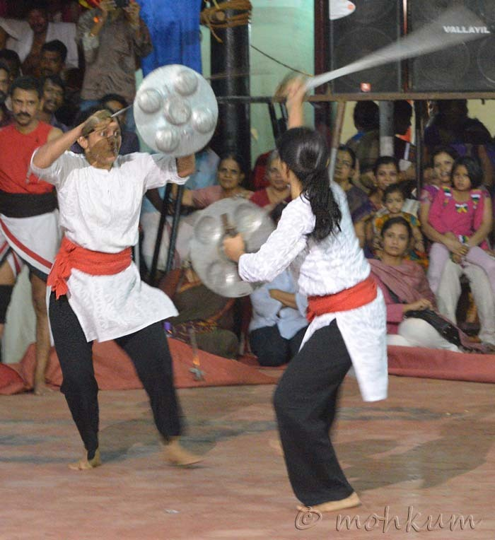 The martial arts of Kerala!
