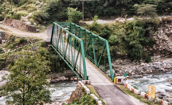 river bridge rivet yamunotri utharakhand