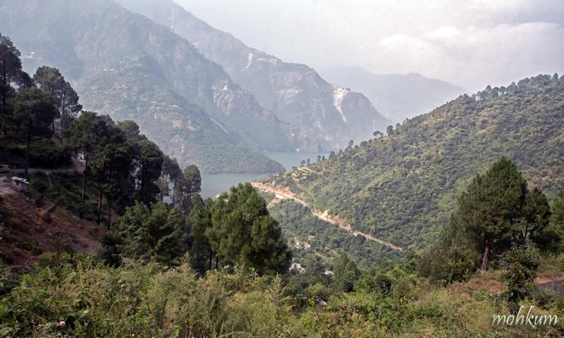 tehri dam mountain
