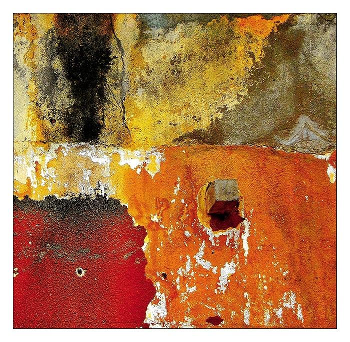 Le mur orange