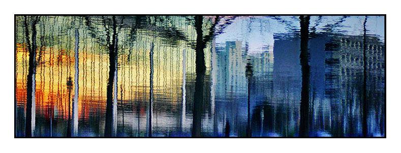 Reflets sur le canal