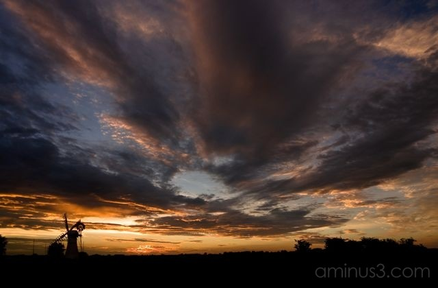 Sunset over Thurne