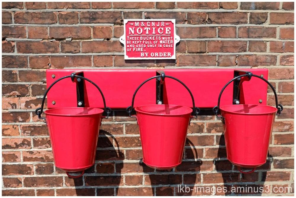 3 Fire Buckets