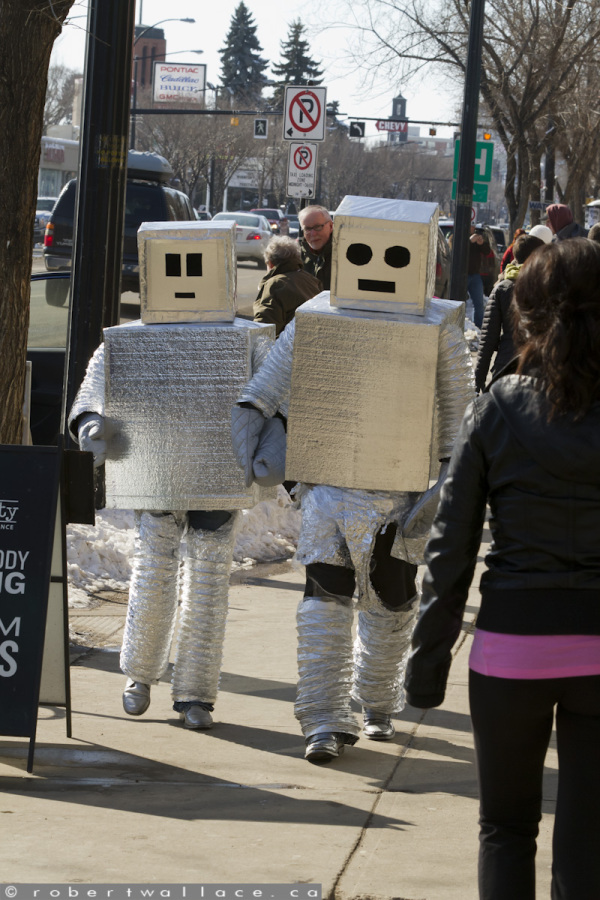 Robots on Whyte #8