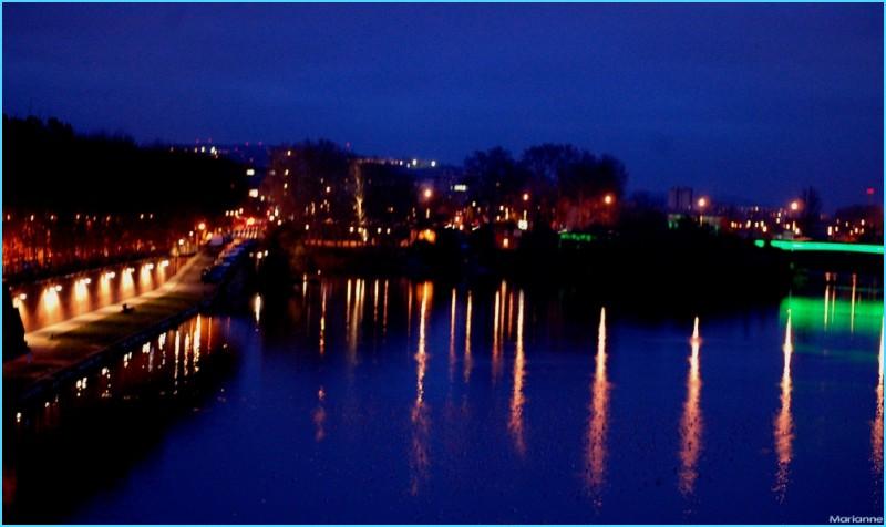 a bridge at night ... bleus de l'âme ?